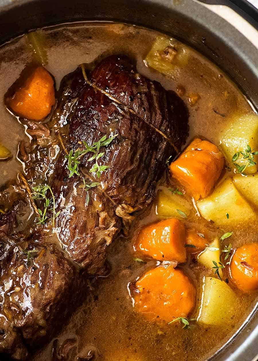 Fall Slow Cooker Pot Roast