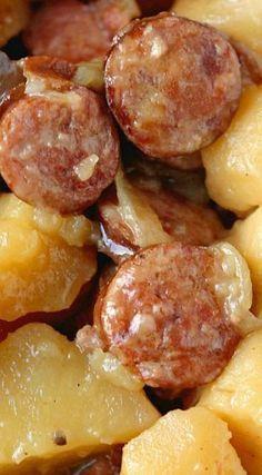 Best fall crockpot recipes: Hearty Sausage & Potatoes