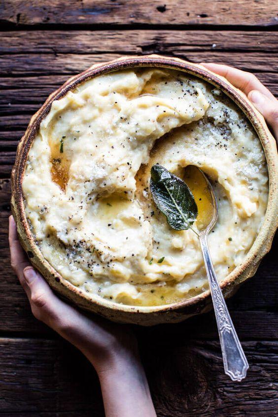 Best fall crockpot recipes: Three Cheese Mashed Potatoes