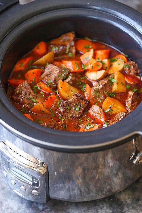 Best Crockpot Beef Stew For Fall