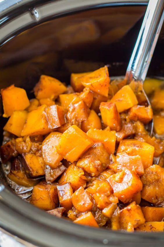 Best fall crockpot recipes: Cinnamon Sugar Butternut Squash