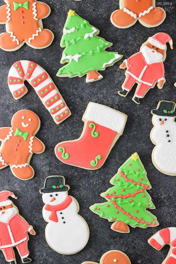 Cutout Christmas Sugar Cookies