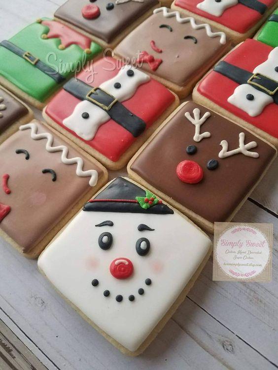 Snowman & Reindeer Cookies