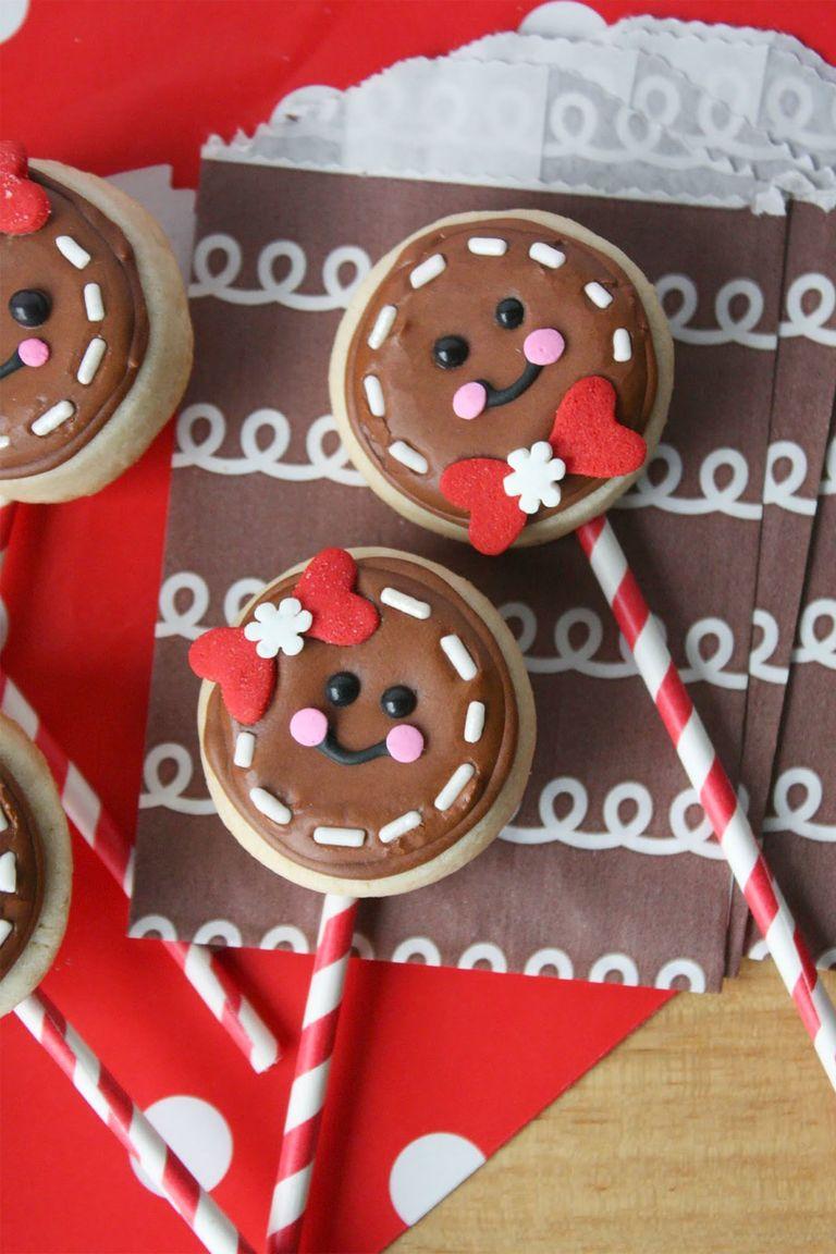 Mini Sugar Cookie Ginger Pops