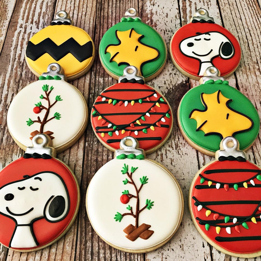 Snoopy Christmas Cookies
