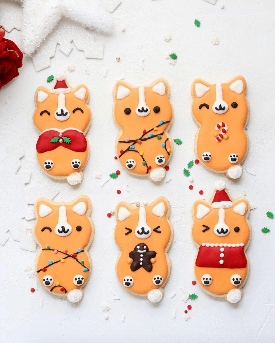 Cute Fox Sugar Cookies