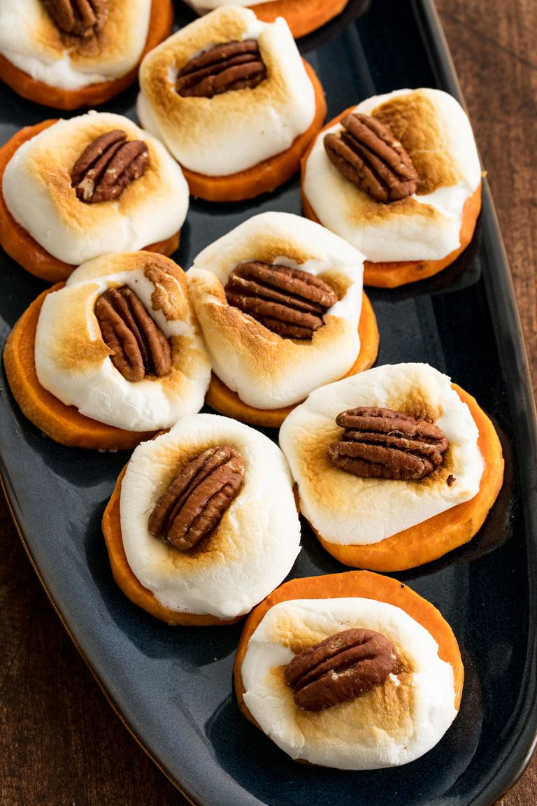 Easy Thanksgiving appetizers: Sweet Potato Bites