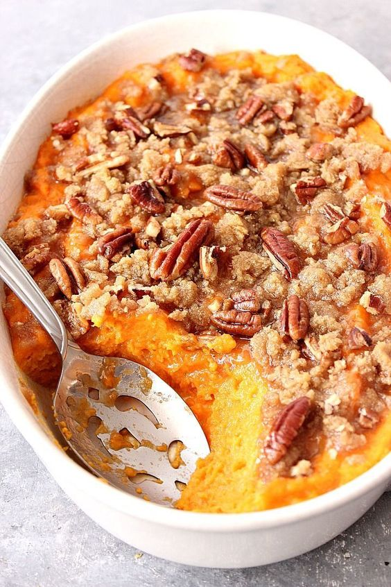 Best Thanksgiving side dishes: Easy Sweet Potato Casserole