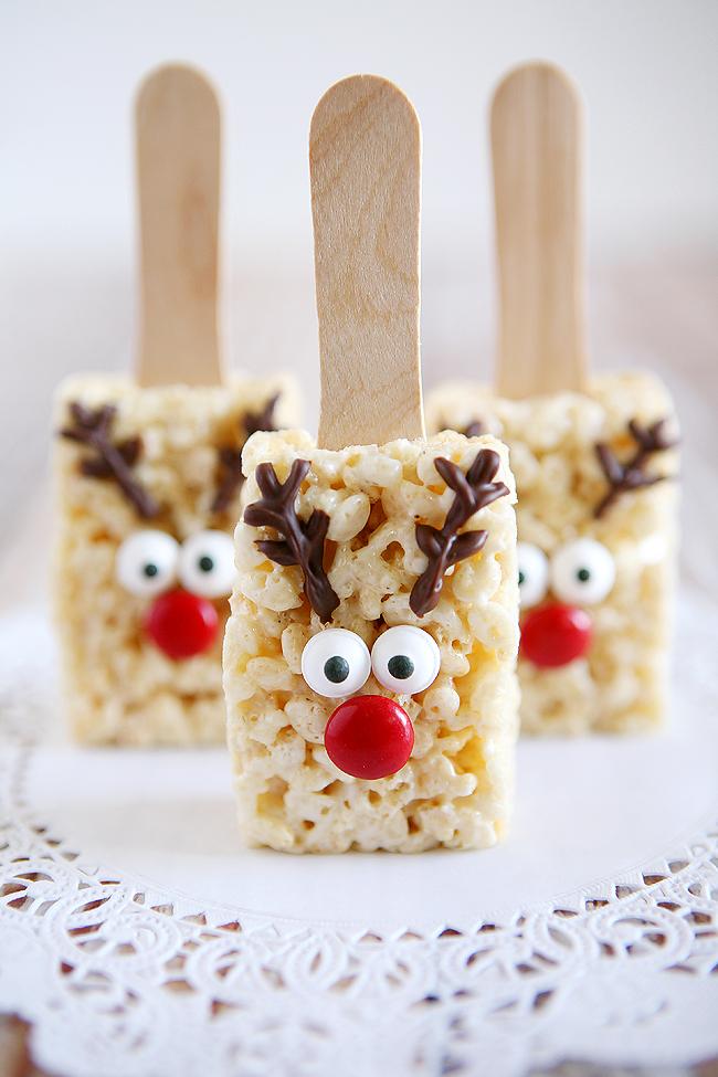 Easy Christmas treats: Rudolph The Reindeer Rice Krispies