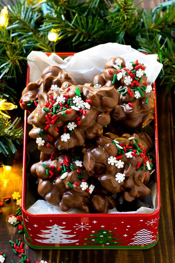 Christmas Crock Pot Candy