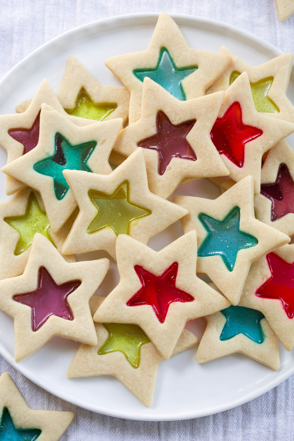 Easy Christmas Treats: Stained Glass Cookies