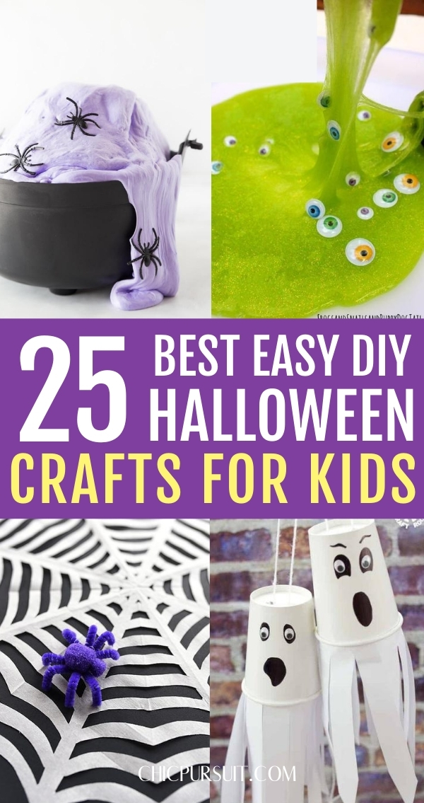 25 Easy Halloween Crafts For Kids That Are Wickedly Fun