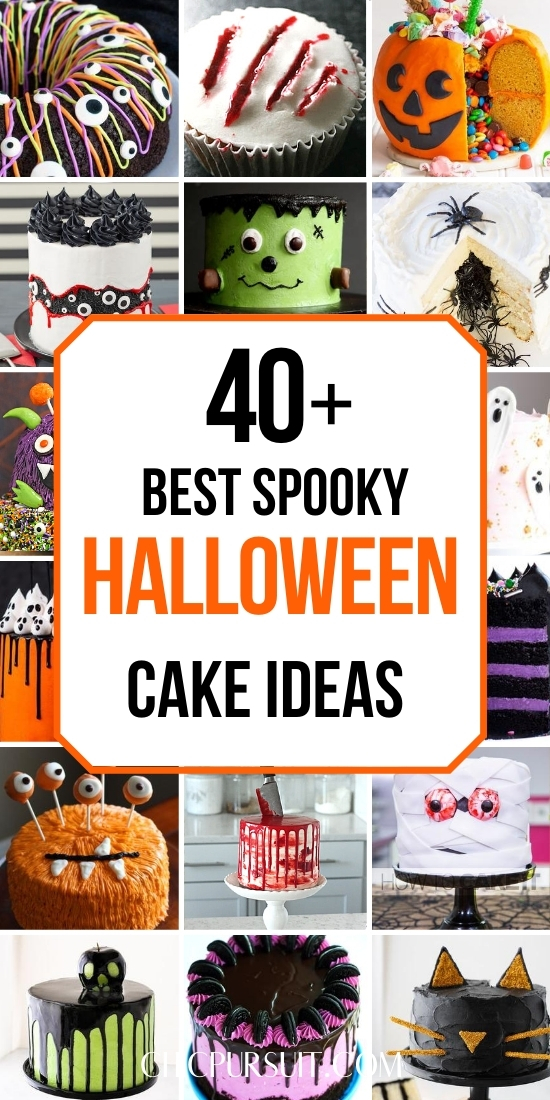 The most amazing spooky Halloween cakes for kids and adults