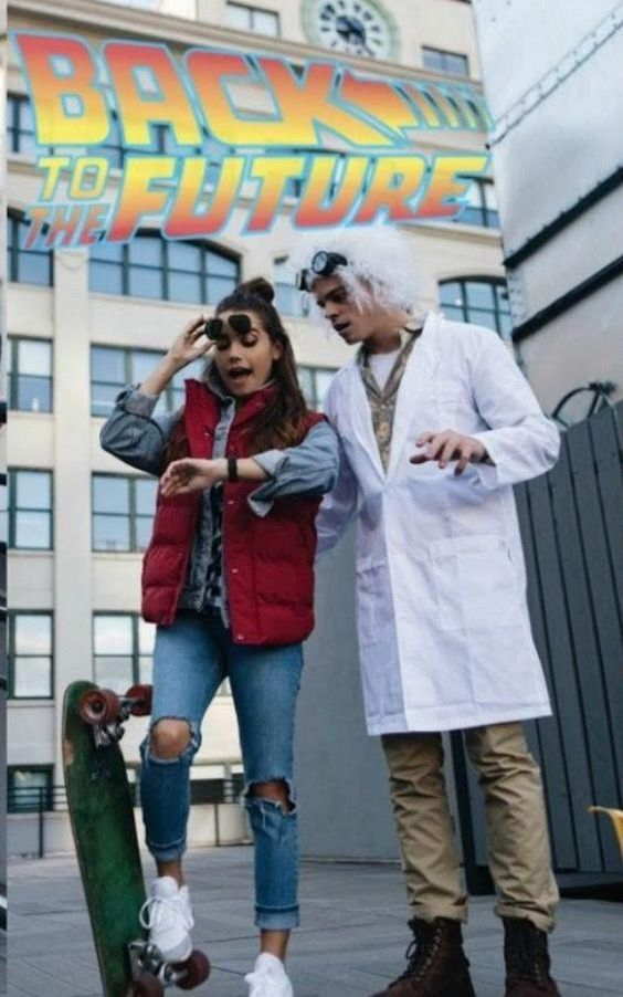 Creative Halloween costumes - Back To The Future