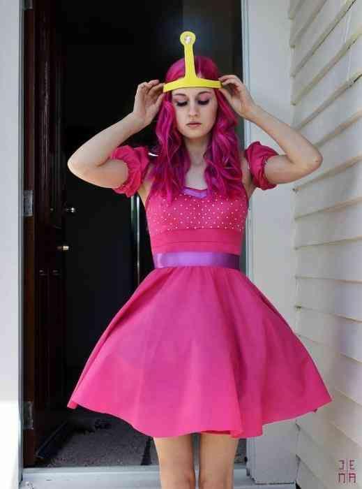 Pink princess Halloween costume