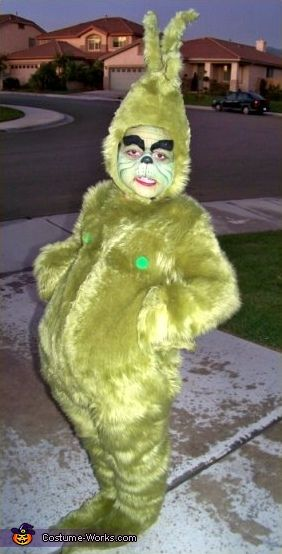 The Grinch Halloween costumes