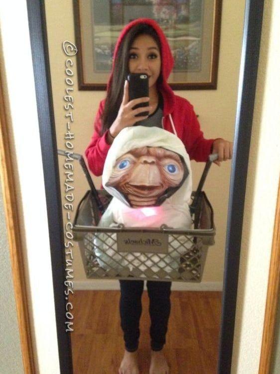 DIY Creative ET Halloween ostumes