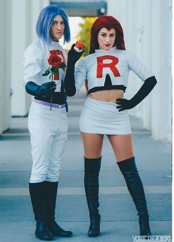 Team Rocket Halloween costumes from Pokemon