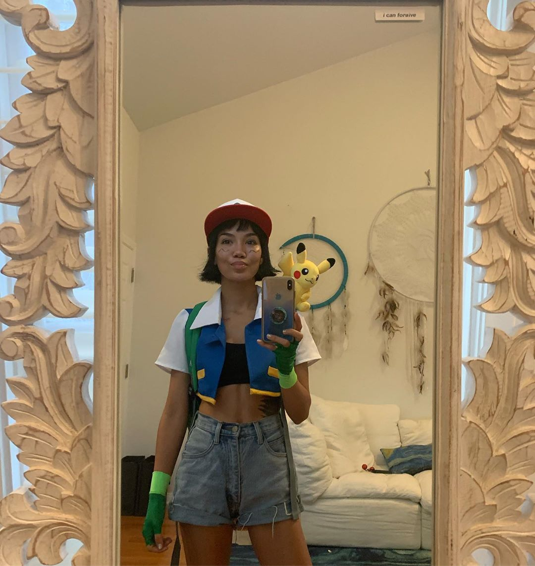 Cute Ash From Pokemon Halloween Costumes