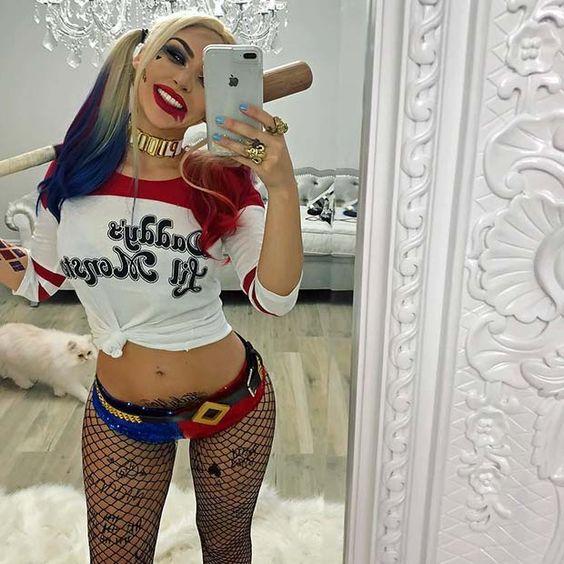 Hot Harley Quinn costume for women