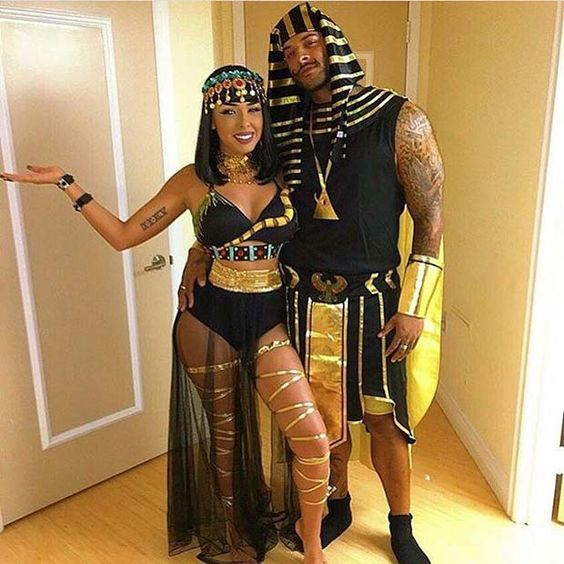 Egyptian Halloween costumes for couples