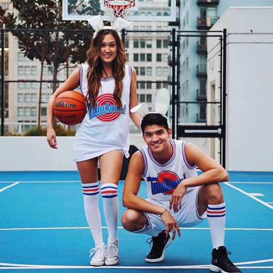 Cute couple Halloween costumes for teens - Tune Squad Halloween costume