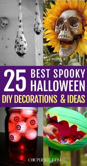 25+ Easy DIY Halloween Decorations For Indoors & Outdoors