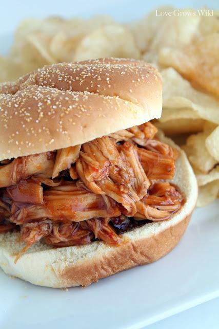 Honey Barbecue Chicken Sandwiches
