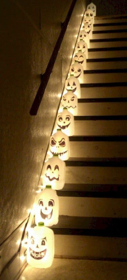 Easy DIY Halloween decorations for indoors and outdoors, Halloween lanterns decor
