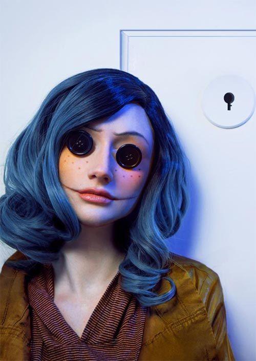 Scary Hallowen makeup ideas, scary Halloween makeup looks