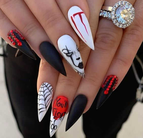 50+ Devilishly Cute Halloween Nails That You Need To See