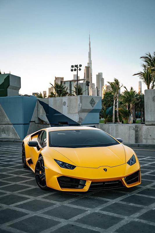 Yellow Lamborghini - luxury gifts for men who have everything, gifts for guys with expensive taste