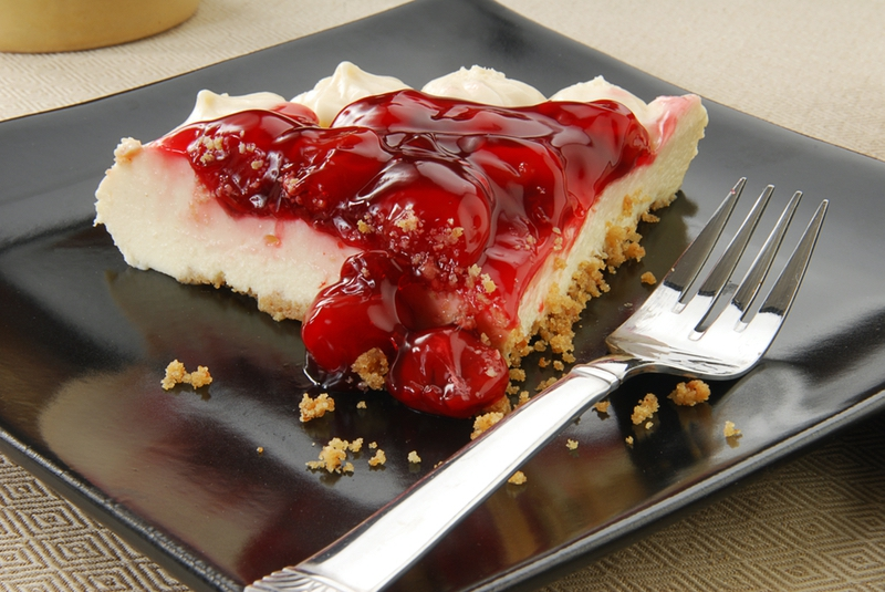 No Bake Graham Cracker Cheesecake