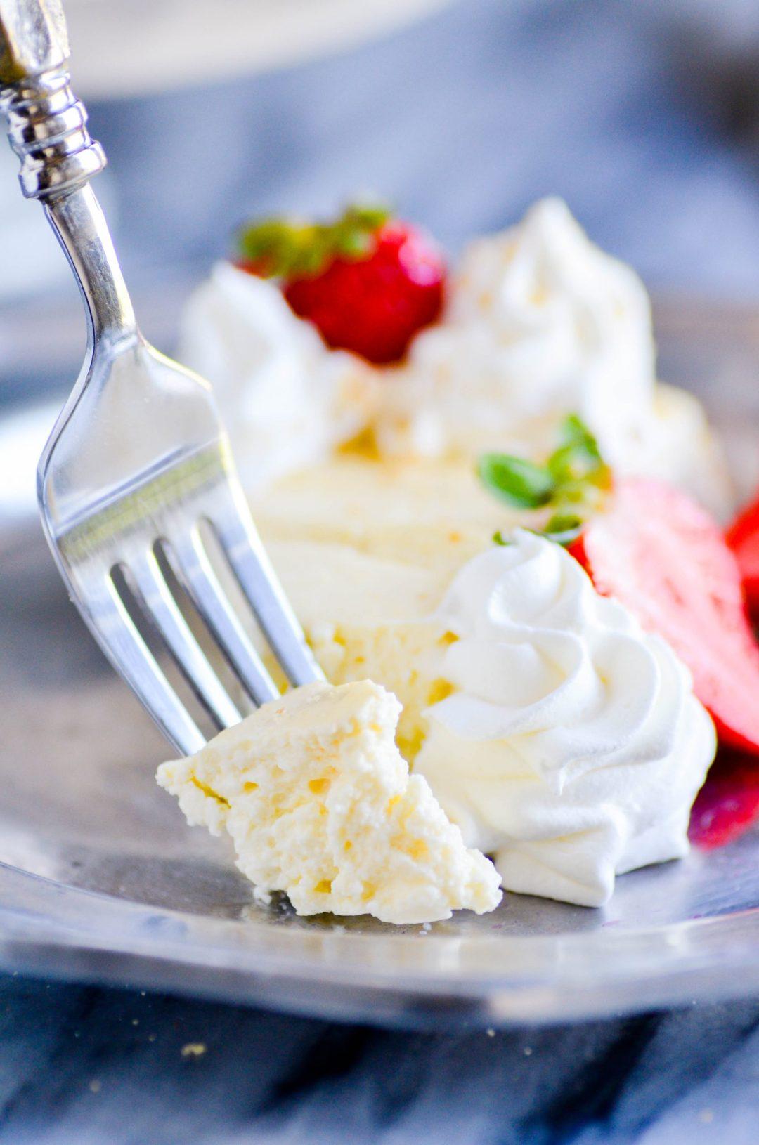 1 Point Strawberry Cheesecake
