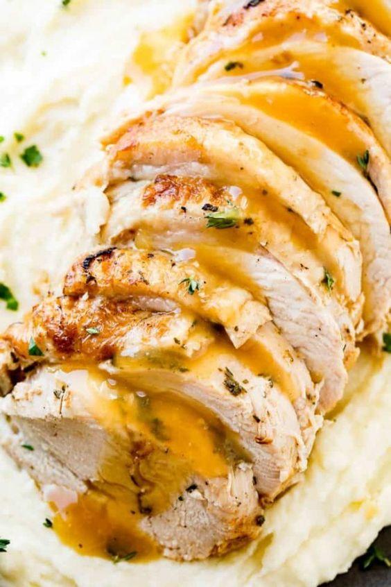 Easy Christmas dinner ideas: Award Winning Instant Pot Turkey