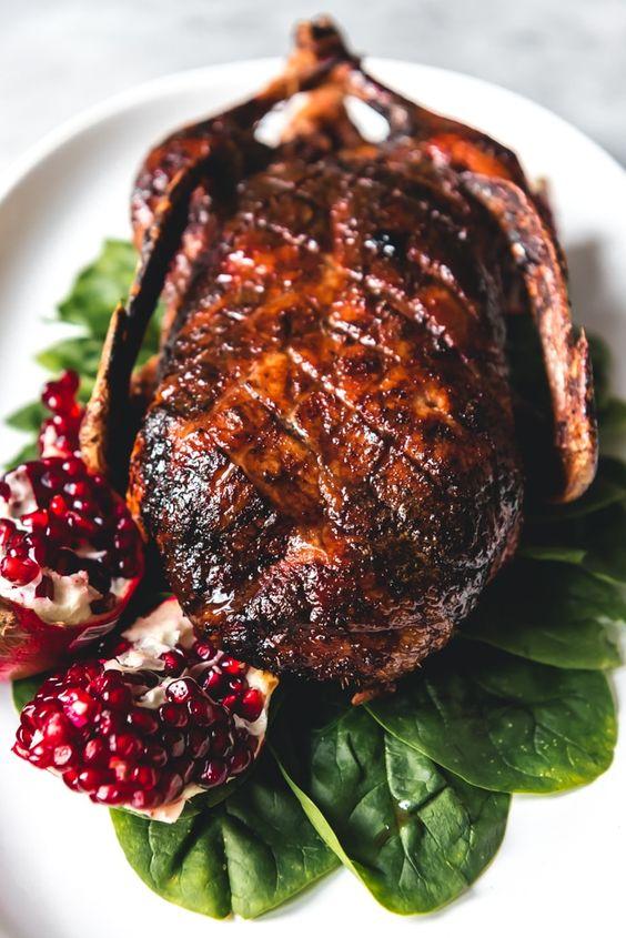 Best easy Christmas dinner ideas: Honey Roast Duck