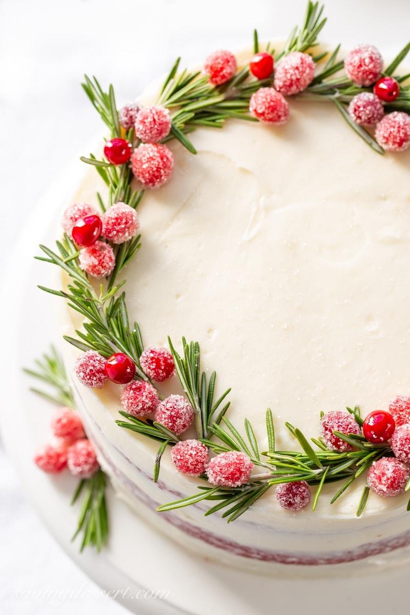 Red Velvet Christmas Cake Ideas