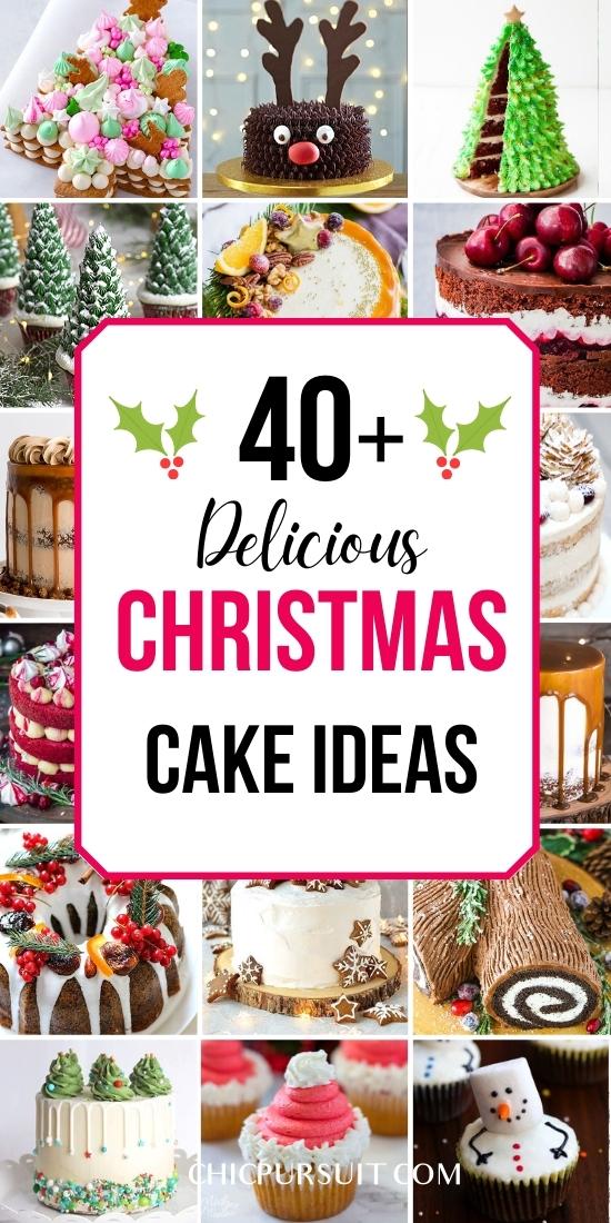 The best Christmas cake ideas, Christmas cake designs, Christmas cake decorations and Christmas cake recipes