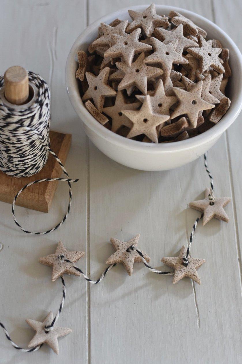 DIY Scented Salt Dough Ornaments