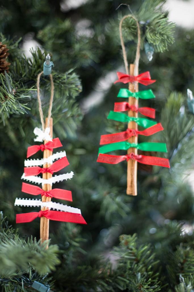 DIY Cinnamon Stick Christmas Ornaments
