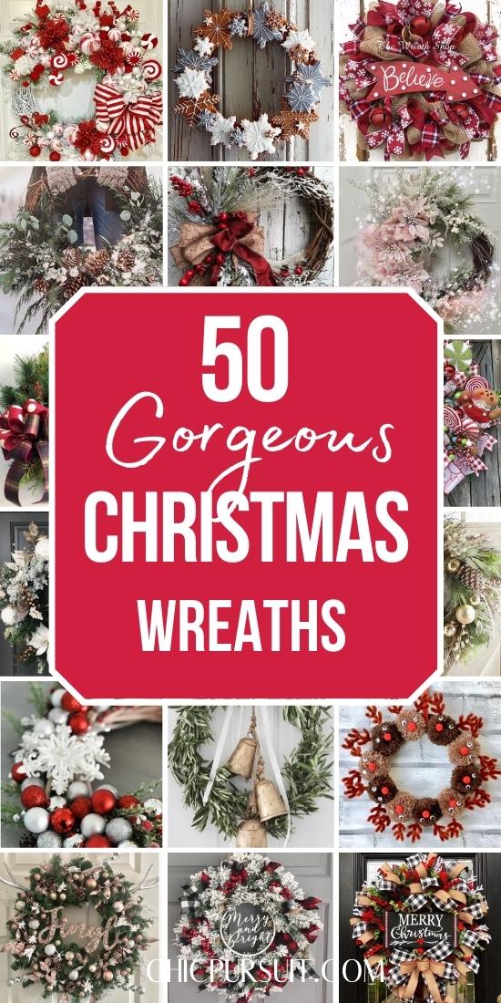 Best rustic Christmas wreaths for front door