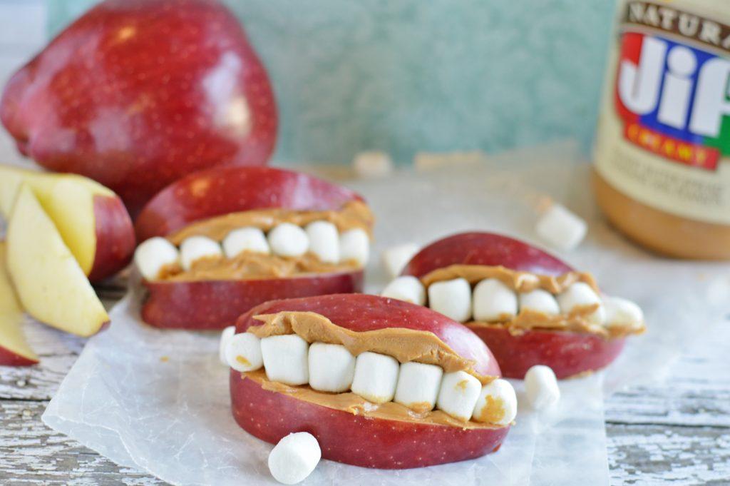 Kids Teeth Halloween Snacks