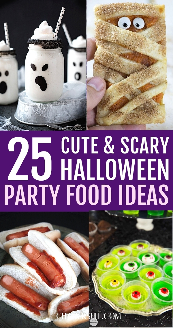 25+ Wickedly Fun Halloween Party Food Ideas Perfect For A Crowd