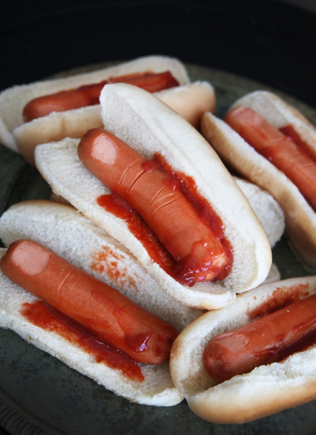Scary And Fun Halloween Food Ideas For Kids: Severed Fingers In A Bun
