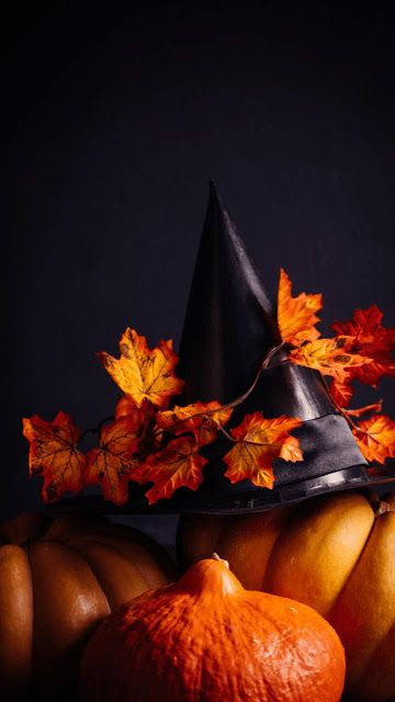 Witch Hat Halloween wallpapers iphone