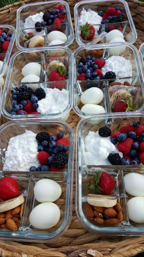 Protein Packed Breakfast Meal Prep Bento Boxes