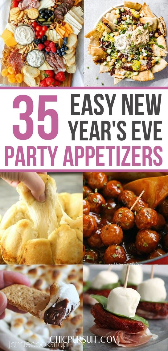 The best easy New Year's Eve party appetizers and finger food ideas