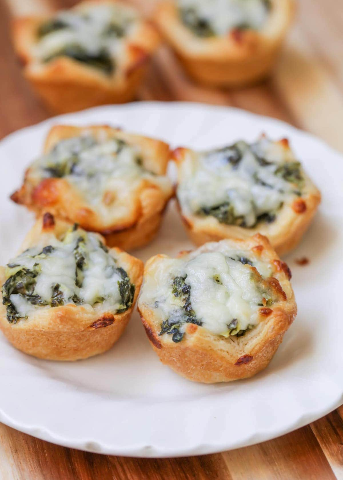 Easy New Year's Eve Party Appetizers: Spinach Dip Bites