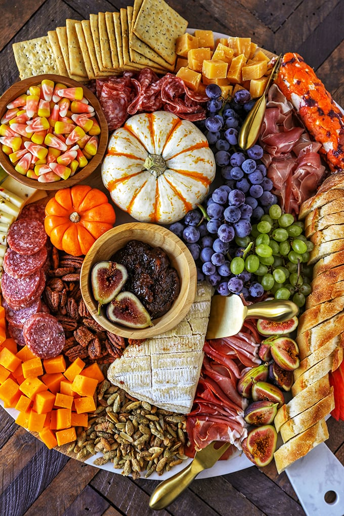 Harvest Charcuterie Board for Thanksgiving