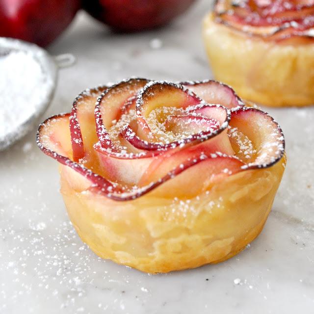 Gorgeous Rose-Shaped Apple Dessert